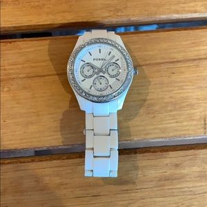 Fossil watch, needs new battery. Day/date/hour